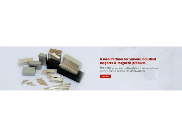 Industrial Magnets & Magnetic Products Supplier and Manufacturer In China - Mag Spring