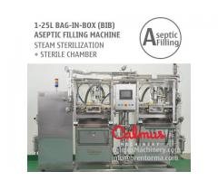 Semi-automatic BiB Juice Dairy Sauce Filling Machine Bag in Box Aseptic Filler