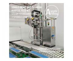 200-220 Litre Bulk Bag Filler Equipment Bag in Drum Aseptic Filling Machine
