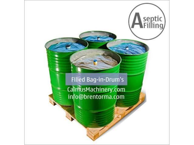 200-220 Litre Bulk Bag Filler Equipment Bag in Drum Aseptic Filling Machine