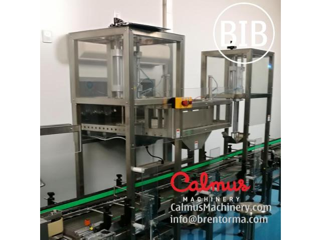 Fully-automatic BiB Filling Machine Bag-in-Box Cartoning Line