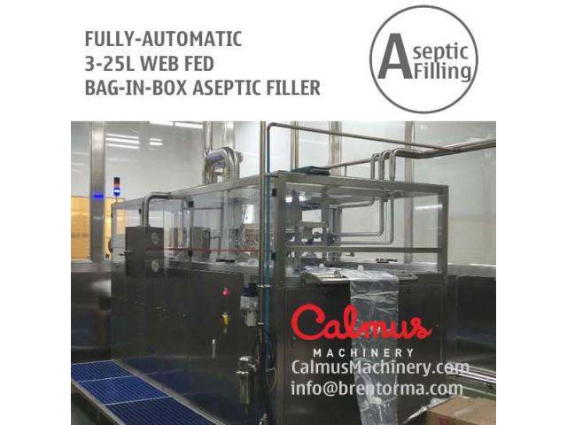 WEB-Fed 3-5-10-20 Litre BiB Filling Machine Bag in Box Aseptic Filler