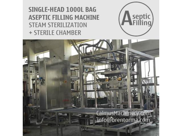 1000 Litre Tote Filling Machine 1000L IBC Liner Bag Aseptic Filler