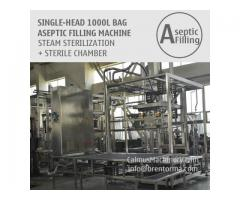 1000 Litre Tote Filling Machine 1000L IBC Liner Bag Aseptic Filler