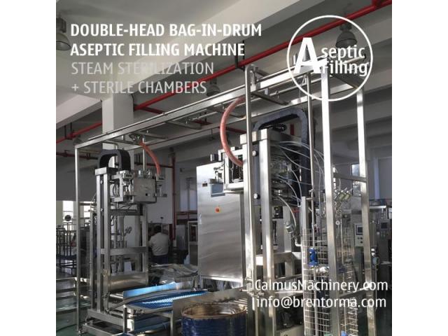 200-220-Litre-KG Sauce Paste Juice Packaging Bag in Drum Aseptic Filling Machine