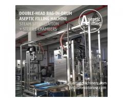 200-220-Litre-KG Sauce Paste Juice Packaging Bag in Drum Aseptic Filling Machine