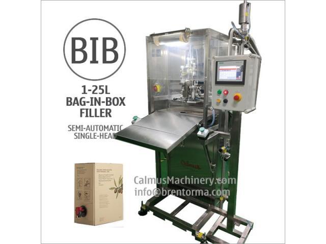 Boxed Wine Oil Liquid Egg Packaging Equipment Bag in Box Filling Machine